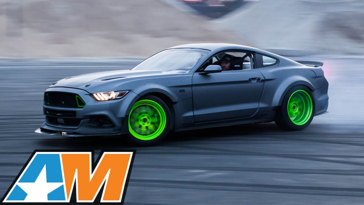 Sema 2014 2015 rtr ford mustangs drifting at high speeds youtube