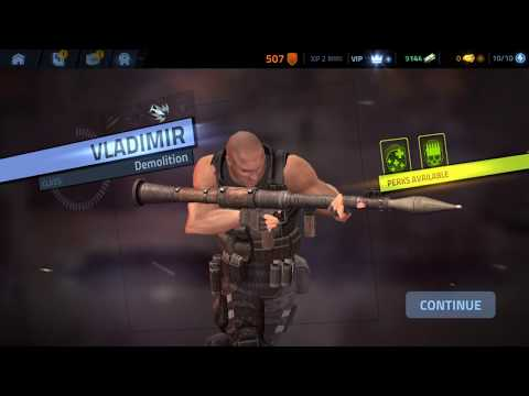 Cover Fire shooting games Android iOS Walkthrough Gameplay