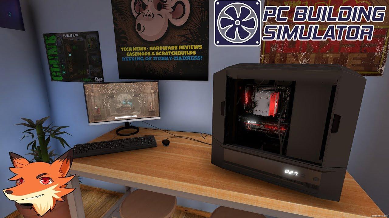 pc building simulator 1 fr mon boulot r parer les pcs youtube. Black Bedroom Furniture Sets. Home Design Ideas