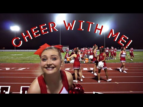 Cheer With Me! | High School Football Game!