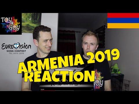 Armenia Eurovision 2019 Reaction - Review - Srbuk - Walking Out - #35