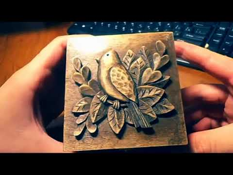 wood carving | Carved jewelry box | Carving On Wood | art | gift | that give | how to make