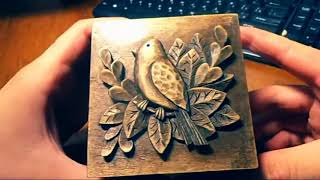 Wood carving Carved jewelry box Carving On Wood art gift that give how to make