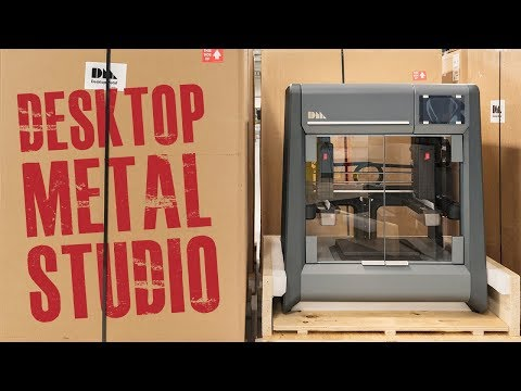 Desktop Metal Studio 3D Printer | Affordable Metal 3D Printing