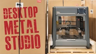 المعادن سطح المكتب 3D ستوديو الطابعة | بأسعار معقولة المعادن 3D الطباعة