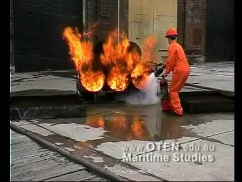 Fire fighting - CO2 Exitinguisher