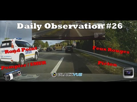 ► Daily Observation #26 - Dashcam France ◄™ | Observations quotidiennes