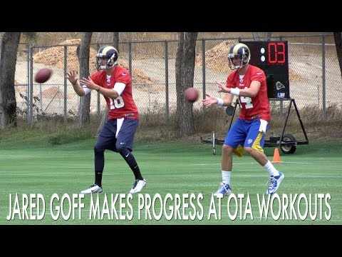Jared Goff Is A Work In Progress At Rams OTA Workouts
