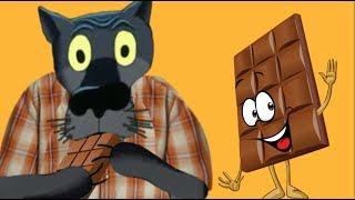 Я не зефир,но так хочу быть в шоколаде! Желаю  шоколадного  настроения !#ВГостяхУВолка