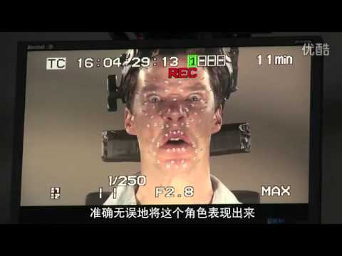 Desolation of Smaug Benedict Cumberbatch behind the scene