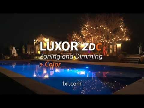 Fx Luminaire Luxor Zdc Outdoor Lighting System