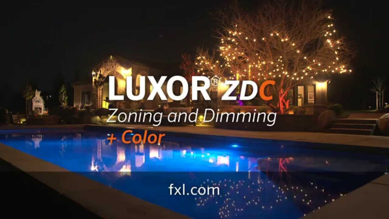 Fx Outdoor Lighting Fx luminaire luxor zdc outdoor lighting system youtube workwithnaturefo