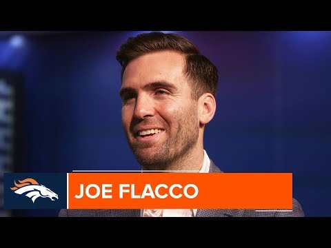 Joe Flacco is Excited to Play for The Broncos | Denver Broncos