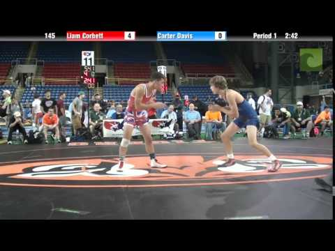 145 Liam Corbett vs. Carter Davis