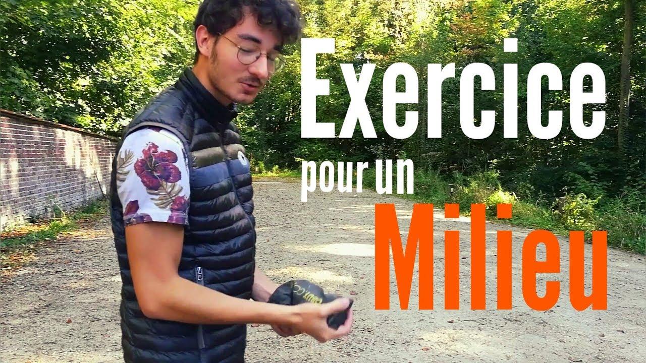Pétanque: Un Exercice pour un vrai Milieu