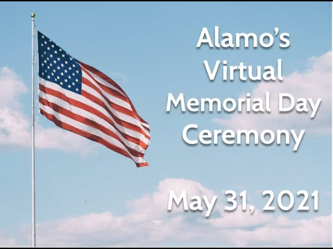 Download Alamo Memorial Day Ceremony 2021