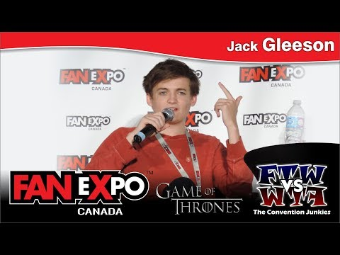 Game of Thrones' Jack Gleeson - Fan Expo Canada - Panel
