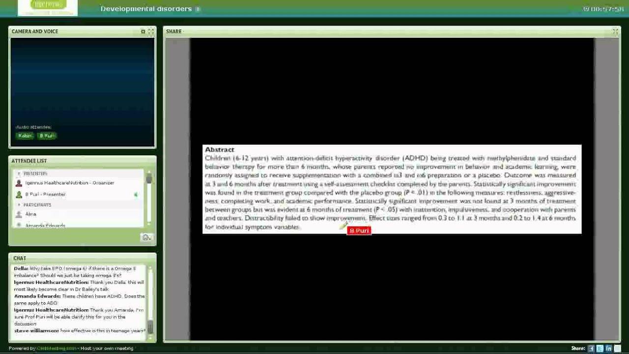 Igennus Developmental disorders webinar
