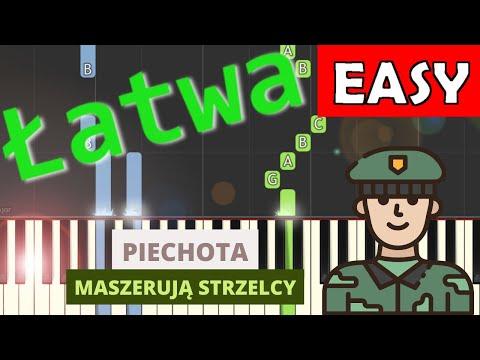 🎹 Piechota (pieśń patriotyczna) - Piano Tutorial (łatwa wersja) 🎹
