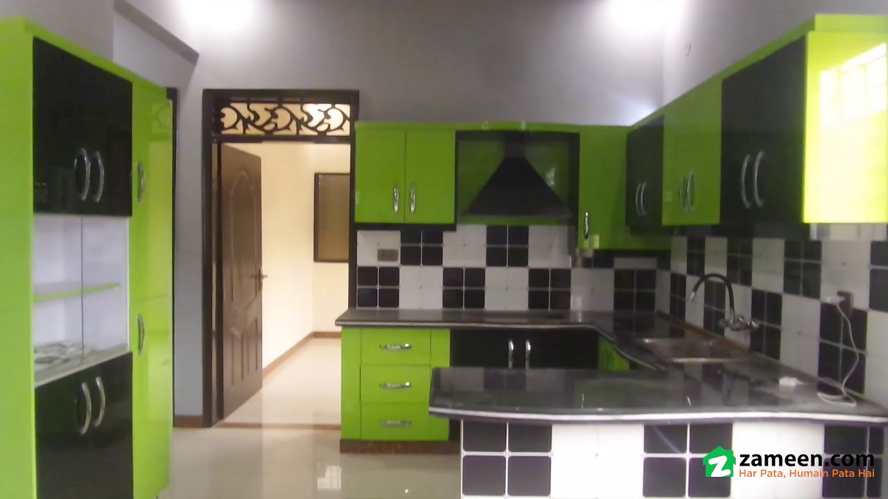 120 Sq Yd  BRAND NEW DOUBLE STOREY HOUSE FOR SALE IN BLOCK 2 GULBERG TOWN  AZIZABAD KARACHI