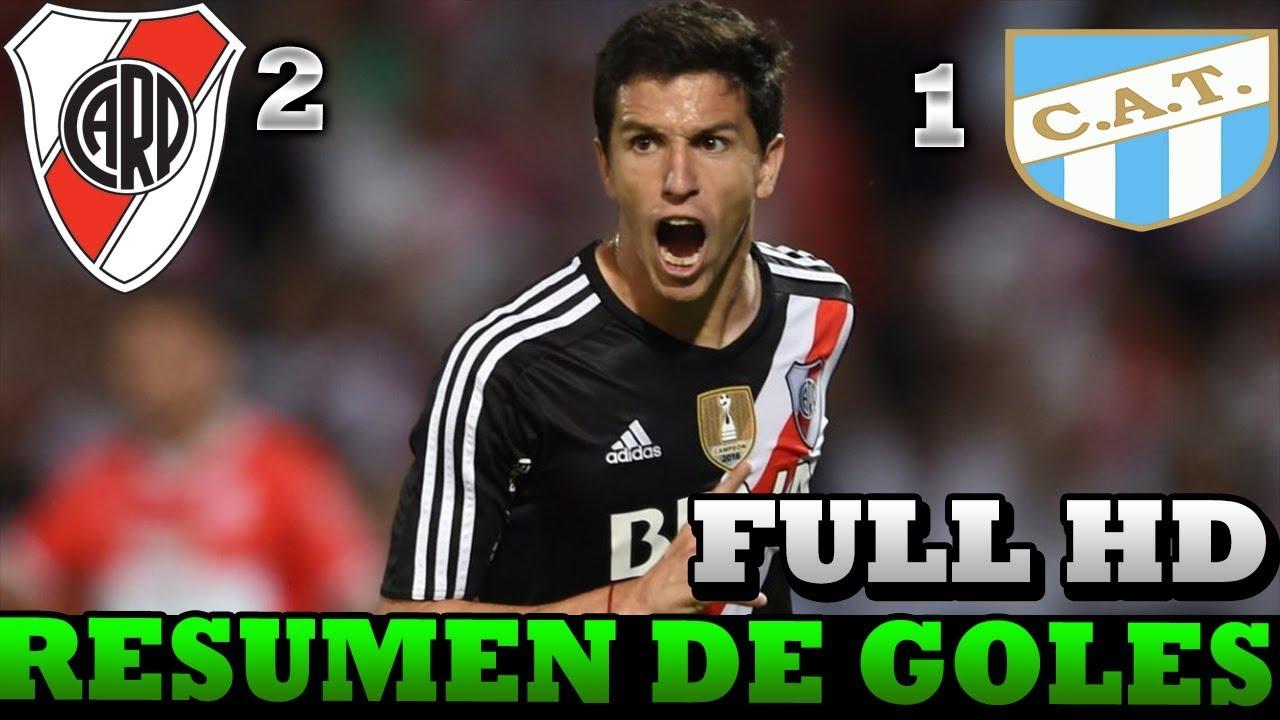 River Plate Vs Atl U00e9tico Tucum U00e1n 2 1 RESUMEN GOLES FINAL