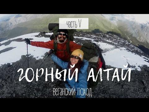 ВЕГАНСКИЙ ПОХОД к Белухе. Горный Алтай || ЧАСТЬ 5 || Vegan Family