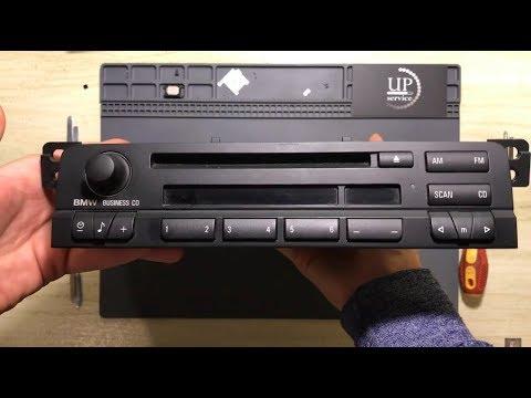 BMW E46 Business CD AUX Car Radio Вывод аукс BMW BP магнитола  (разбор магнитолы)