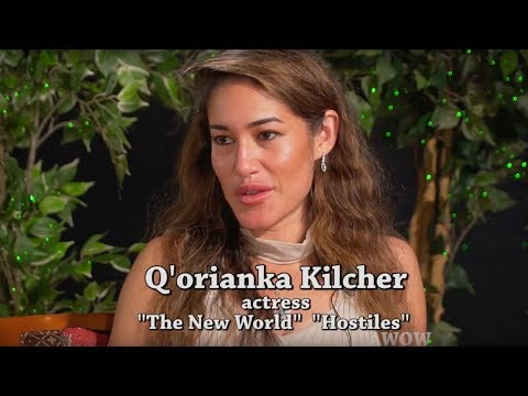 HOSTILES & THE NEW WORLD!  Actress Q'orianka Kilcher was in both!