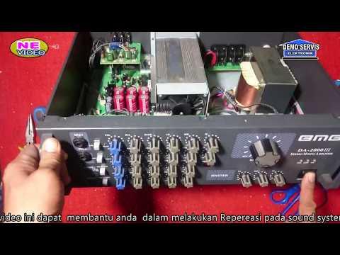 servis Amplifir BMB type DA-2000 III