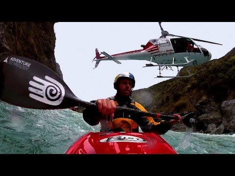 Kayak exploration - Red Bull Flow Hunters - New Zealand