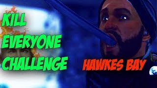 Hawkes Bay Kill Everyone Challenge - Hitman 2
