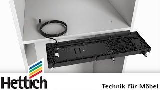 Elektromechanisches Öffnungsystem Easys für Kühlschränke: Einfache Montage