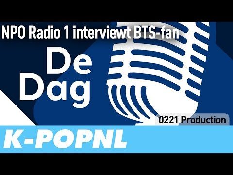 [MEDIA] Dutch Public Radio Interviews BTS Fan — K-POPNL