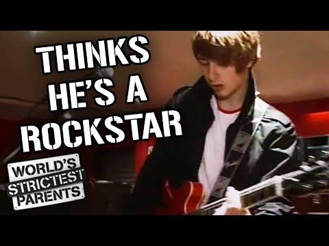 Teen Thinks He's Already A Rockstar | World's Strictest Parents