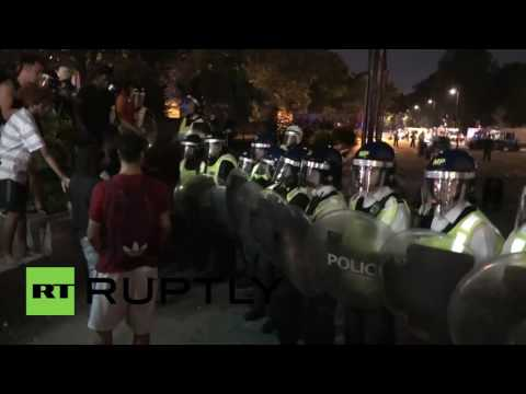 UK: 3 stabbed after water fight in London's Hyde Park turns violent