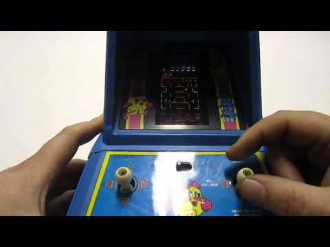 1981 Vintage Coleco Mini-Tabletop/Handheld-Arcade Game Ms.Pac-Man From Bally/Midway