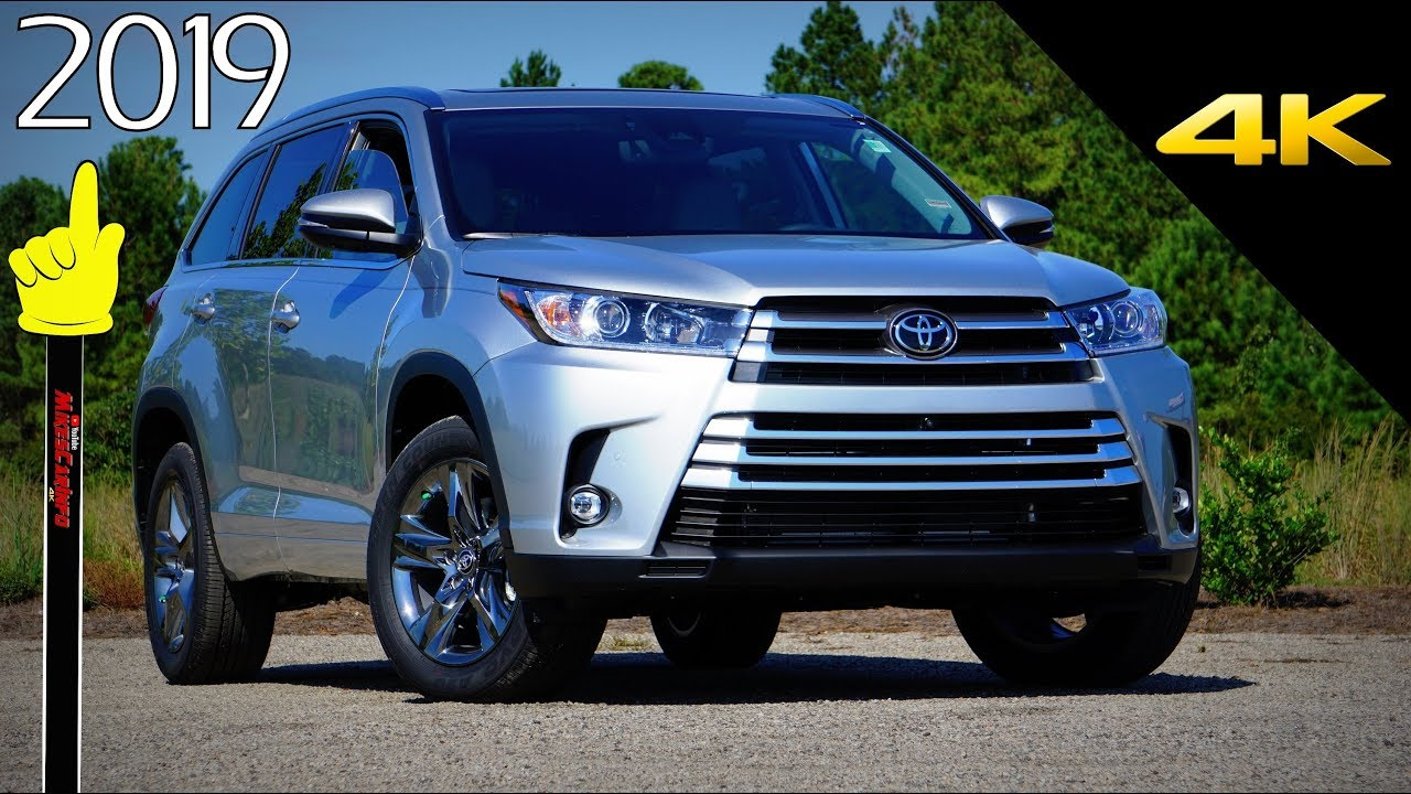 2019 Toyota Highlander Limited Platinum Ultimate In Depth Look In
