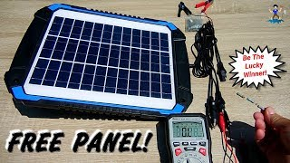 Solar Panel Giveaway! (Battery Maintainer & Charger)