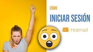Cómo Iniciar Sesión En Hotmail En Español Youtube