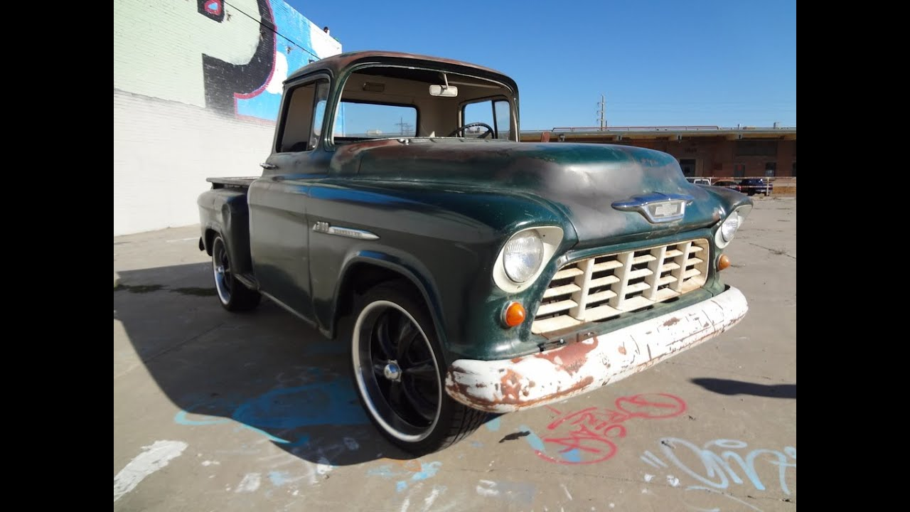 1955 Chevy Truck For Sale >> Barn Find 1955 Chevrolet 3100 Pickup Farm Truck For Sale