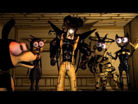[SFM BENDY] CHAPTER 5 Sammy Drew Vs The Ink Master Projectionist Ultimate Fusion Battle Compilation
