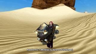 SWTOR Razalon FC-1 Speeder (Space Jockey