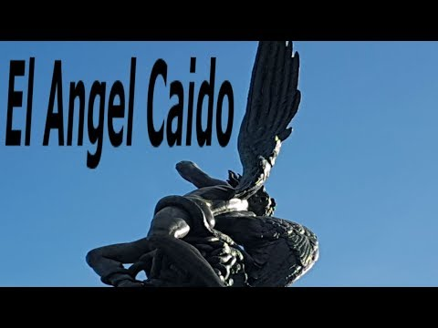 Monuments of the Retiro Park: Fountain of the Fallen Angel