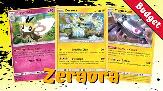 Zeraora Electrifying Unbroken Bonds Deck, PTCGO Gameplay {Budget Edition}