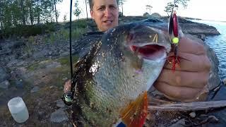 Карелия Пяозеро рыбалка 2018