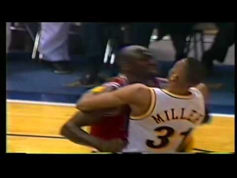 Michael Jordan vs Reggie Miller