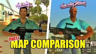 GTA Vice City vs. Vice City Stories - Map Comparison Pt. 1