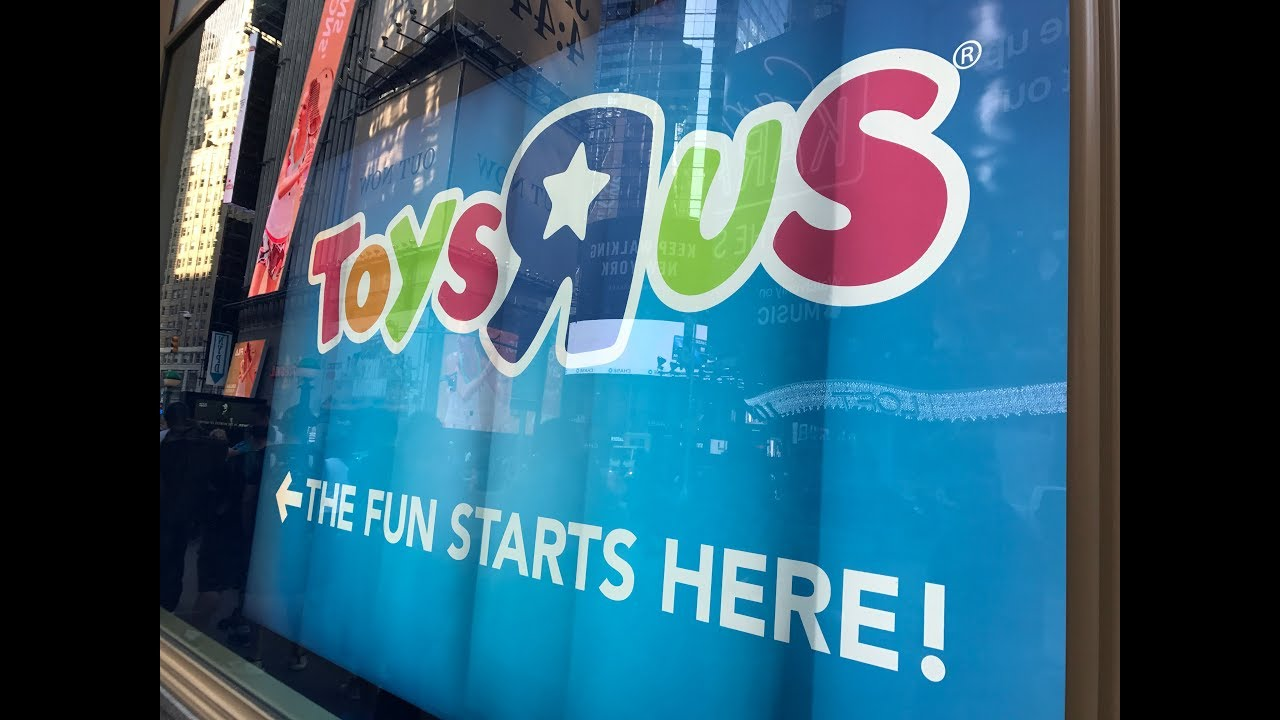 Toys R Us Times Square Grand Opening 2017 Now Closed
