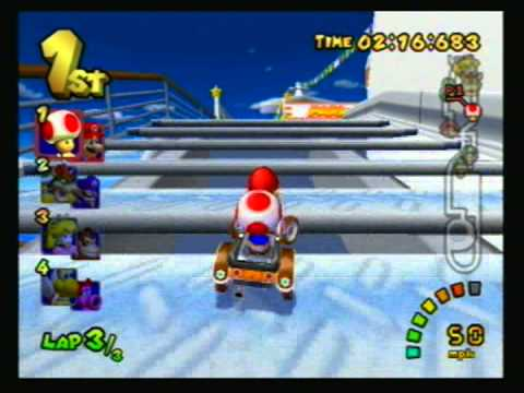 Mario Kart: Double Dash - 2003 - 150cc: Flower Cup