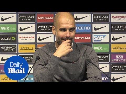 Pep Guardiola: 'Aguero Goal Settled Derby Day Nerves'